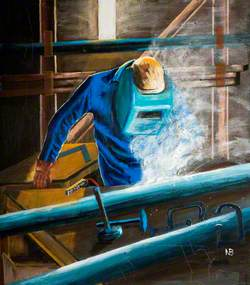 Welding in Operation