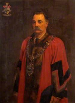 Alderman Wilson Lloyd, Mayor of the Wednesbury Corporation (1888–1890)