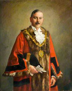Alderman Kenneth Henry Wilson, JP, Charter Mayor, Oldbury (1935–1936)