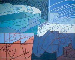 Abstract Potteries Landscape