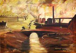 Nantyglo Ironworks, 1840