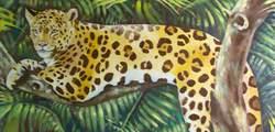 Tropical Bird Frieze: Leopard