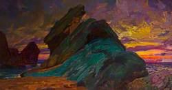 Sunset off the Lleyn Peninsula