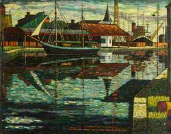 Sailing Ship, West Dock