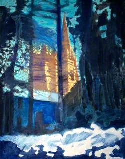 Llandaff Cathedral, Winter Sunshine
