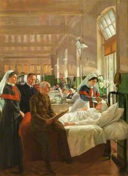 Care of Wounded Soldiers at Cardiff Royal Infirmary during the Great War