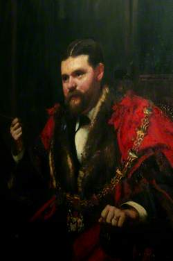 William Williams, JP, MP, Mayor of Swansea (1884)
