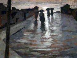 Dark Shapes in the Rain