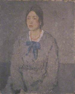 Woman with a Coral Necklace
