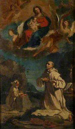 The Vision of Saint Bruno