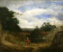 Landscape with Shepherd