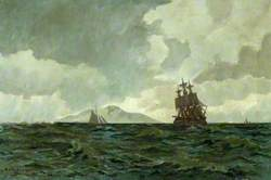 The 'Foudroyant' at Sea