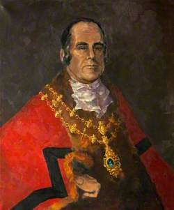 Portrait of a Mayor of Monmouth