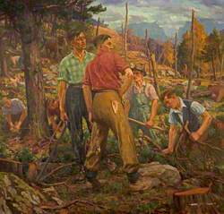 Clearing the Hillside, Aviemore