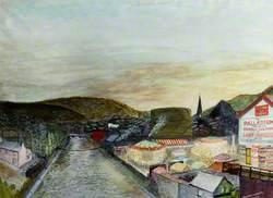 Pontypridd from the Old Bridge