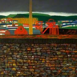 Colliery and Wall, Rhondda