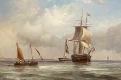 Ships in Calm Water