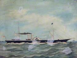 The Steam Yacht 'Lynx'
