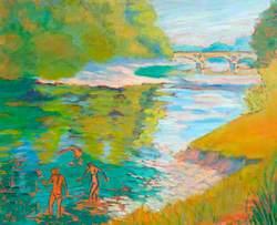 Pant-y-Goitre Bridge over the River Usk