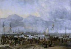An Embarkation Scene