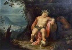 Bacchus Asleep