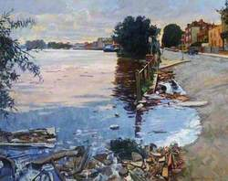 Ebb Tide, the Thames at Chiswick, London