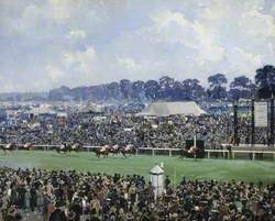 Finish of the 1931 St Leger