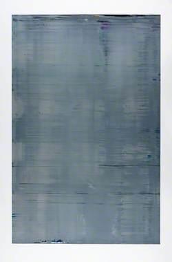 Abstract Painting (Grey) (880-3) (Abstraktes Bild (Grau) (880-3))