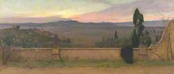 Val d'Arno: Evening