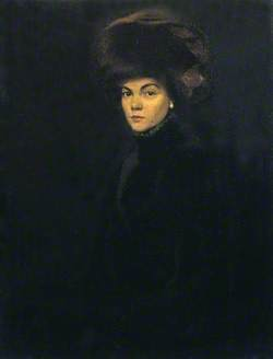 Lady in Furs, Mme. P.