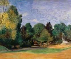 Landscape near Barbizon