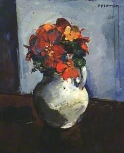 Vase with Dahlias (Kwiaty)