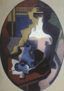 Woman with a Coffee Pot (La Femme à la cafetière)