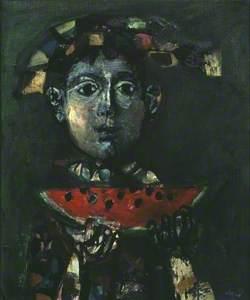 Child with a Water-Melon (Enfant à la pastèque)