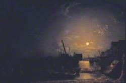 Greenwich Reach, Moonlight