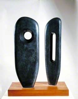 Two Figures (Menhirs)