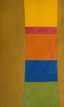 Colour Column on Suede