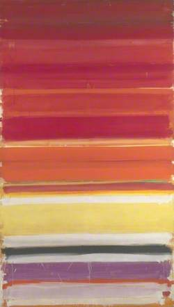 Horizontal Stripe Painting: November 1957 - January 1958