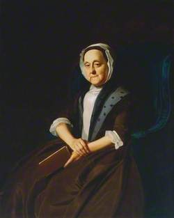 Portrait of Mrs Gill