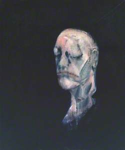 Study for Portrait II (after the Life Mask of William Blake)