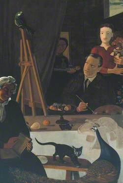 The Painter and his Family (Le Peintre et sa famille)