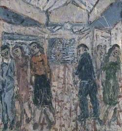 Booking Hall, Kilburn Underground