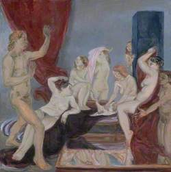 Diana and Actaeon at the Byam Shaw