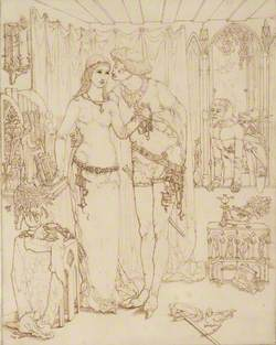 Faust and Marguerite