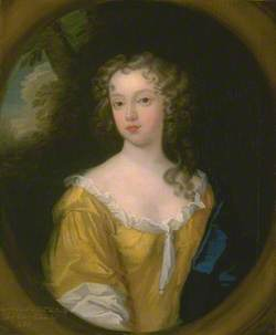 Portrait of a lady, thought to be Dionesse Cullum, wife of Robert Colman