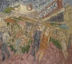 The Flower and Fruit Stalls, Embankment 1995