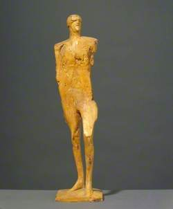 Small Male Figure with Goggles