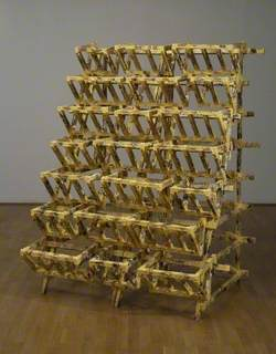 Untitled (Yellow Rack)