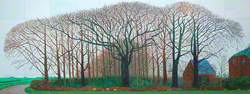 Bigger Trees Near Warter Or/Ou Peinture Sur Le Motif Pour Le Nouvel Age Post-Photographique