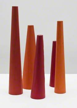 Five Conical Towers